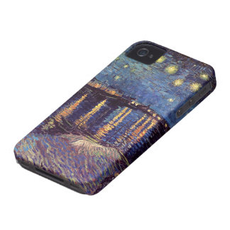 Van Gogh Starry Night Over the Rhone, Fine Art iPhone 4 Covers