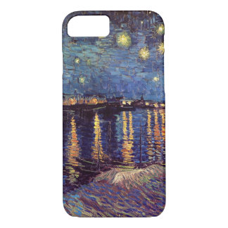 Van Gogh Starry Night Over the Rhone, Fine Art iPhone 8/7 Case