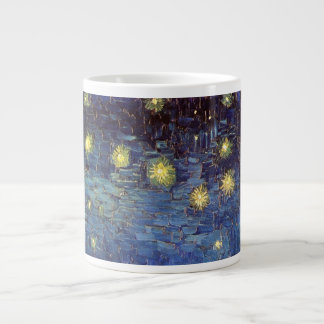 Van Gogh Starry Night Over the Rhone, Fine Art Large Coffee Mug