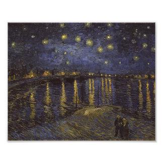 Van Gogh Starry Night Over The Rhone Fine Art Photo Print