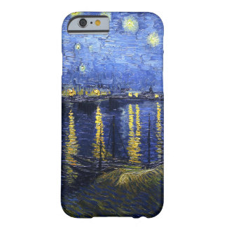 Van Gogh Starry Night Over The Rhone iPhone 6 case Barely There iPhone 6 Case