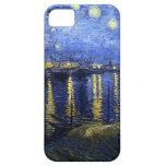 Van Gogh Starry Night Over The Rhone iPhone Case iPhone 5 Case