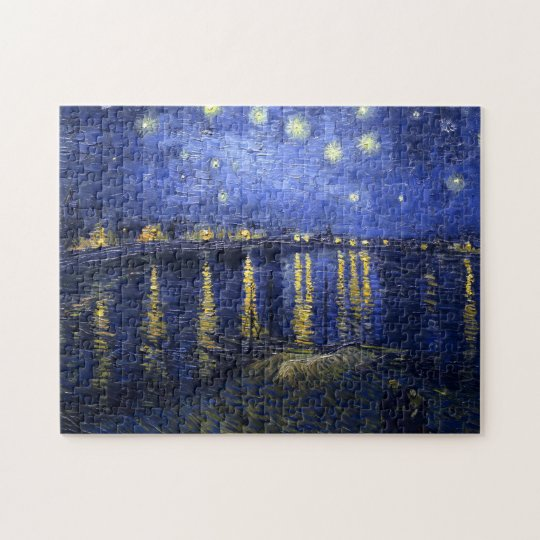 Van Gogh: Starry Night Over the Rhone Jigsaw