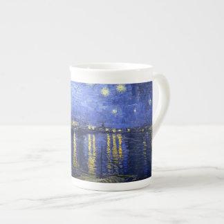 Van Gogh: Starry Night Over the Rhone Tea Cup