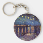 Van Gogh Starry Night Over the Rhone, Vintage Art