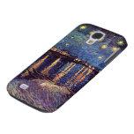 Van Gogh; Starry Night Over the Rhone, Vintage Art Samsung Galaxy S4 Cases