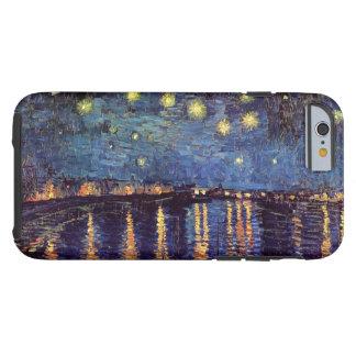 Van Gogh Starry Night Over the Rhone, Vintage Art Tough iPhone 6 Case