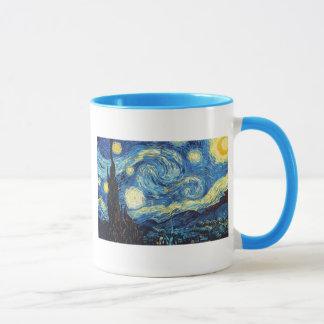 Van Gogh Starry Night Peace Love Destiny Mug