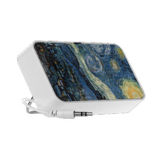 Van Gogh Starry Night Phone Cases and Covers Mp3 Speaker