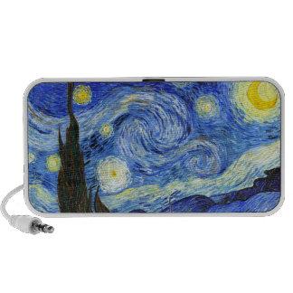 Van Gogh Starry Night Portable Speaker