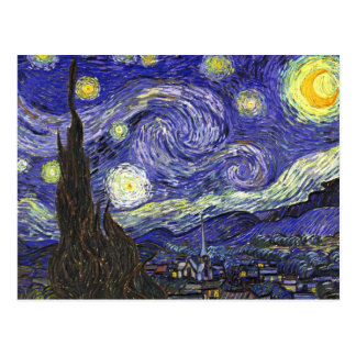 Van Gogh Starry Night Postcard