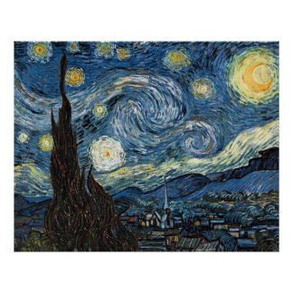 Van Gogh Starry Night Poster