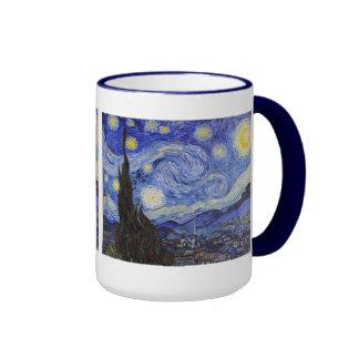"Van Gogh, ""Starry Night"" Ringer Mug"