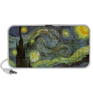 Van Gogh: Starry Night Travelling Speaker