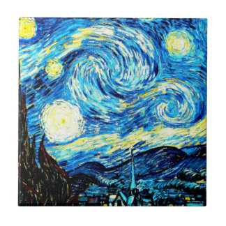 Van Gogh: Starry Night Tile