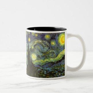 Van Gogh: Starry Night Two-Tone Mug