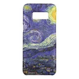 Van Gogh Starry Night, Vintage Fine Art Landscape Case-Mate Samsung Galaxy S8 Case