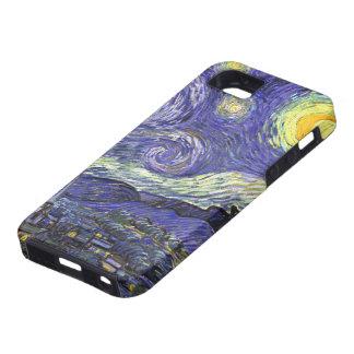 Van Gogh Starry Night, Vintage Fine Art Landscape iPhone 5 Case