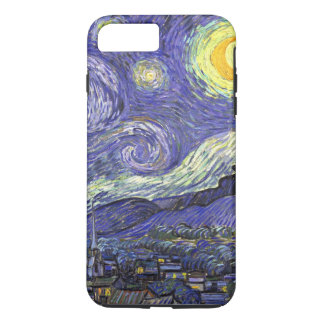 Van Gogh Starry Night, Vintage Fine Art Landscape iPhone 8 Plus/7 Plus Case