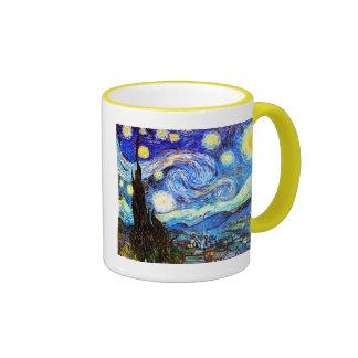 Van Gogh Starry Night Vintage Fine Art Mug
