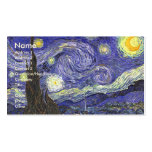 Van Gogh Starry Night, Vintage Landscape Art