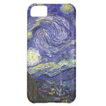 Van Gogh Starry Night, Vintage Post Impressionism iPhone 5C Covers
