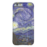 Van Gogh Starry Night, Vintage Post Impressionism Barely There iPhone 6 Case