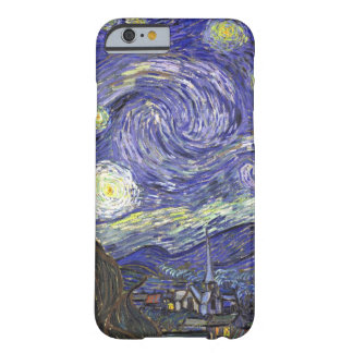 Van Gogh Starry Night Vintage Post Impressionism iPhone 6 Case