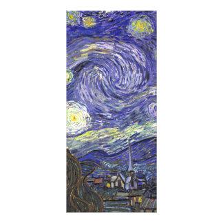 Van Gogh Starry Night Vintage Post Impressionism Custom Rack Cards