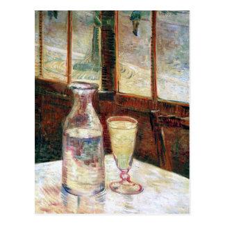 Van Gogh Still Life Absinthe Fine Art Postcard