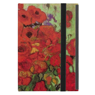 Van Gogh Still Life Flower Red Poppies and Daisies Cover For iPad Mini