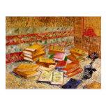 Van Gogh Still Life French Novels & Rose (F359)