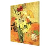 Van Gogh; Still Life Japanese Vase Roses Anemones