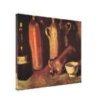 Van Gogh Still Life Stone Bottles, Flask White Cup