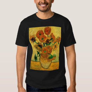 Van Gogh - Still Life Vase With Fifteen Sunflowers T Shirt