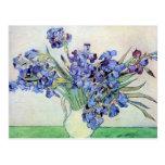 Van Gogh Still Life: Vase with Irises, Vintage Art