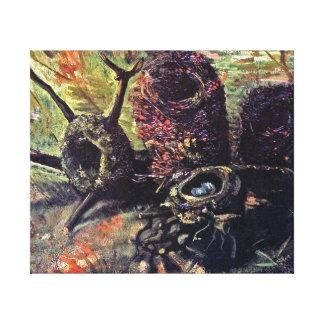 Van Gogh - Still Life With Birds Nests Canvas Prints