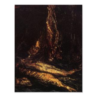 Van Gogh Still Life with Bloaters Vintage Fine Art 11 Cm X 14 Cm Invitation Card