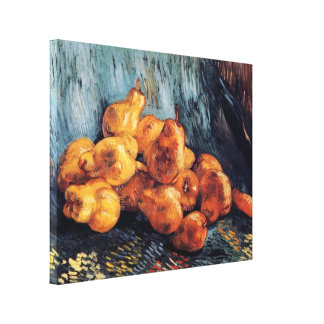 Van Gogh - Still Life With Pears Gallery Wrap Canvas