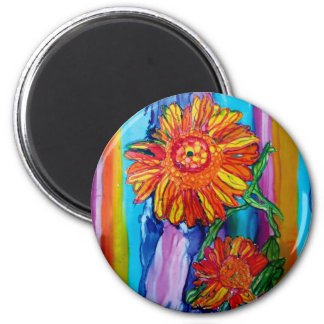 Van Gogh Sunflower Magnet