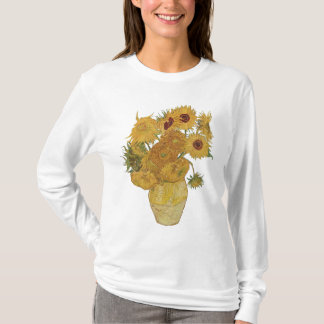 Van Gogh Sunflower T Shirt