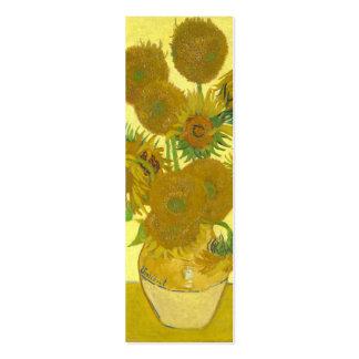Van Gogh | Sunflowers | 1888 Pack Of Skinny Business Cards
