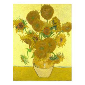 Van Gogh | Sunflowers | 1888 Postcard