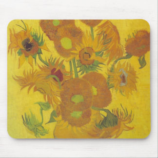 Van Gogh Sunflowers 2 Mouse Mat