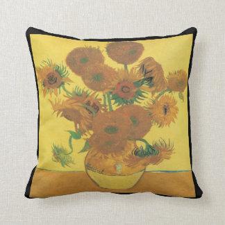 Van Gogh-sunflowers Cushion