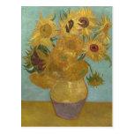 Van Gogh Sunflowers (F455) Vintage Fine Art