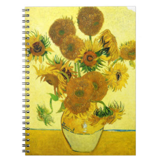 Van Gogh Sunflowers Notebook