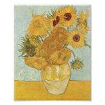 Van Gogh Sunflowers Photo Art