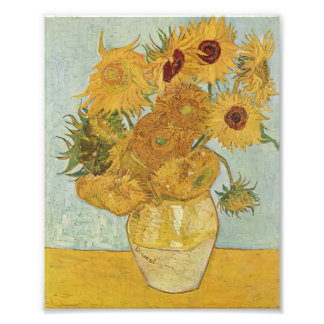 Van Gogh Sunflowers Photo Print