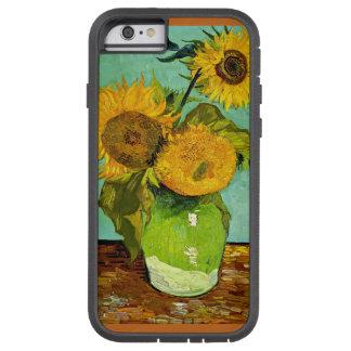 Van Gogh - Sunflowers, Three Tough Xtreme iPhone 6 Case
